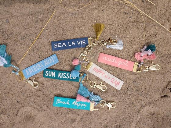 Beachy Keychain