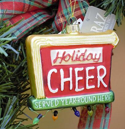Holiday Cheer Ornament