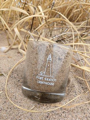 Fort Gratiot Lighthouse Rocks Glass
