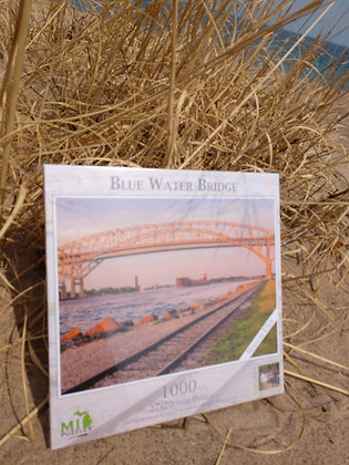 Blue Water Bridge Puzzle