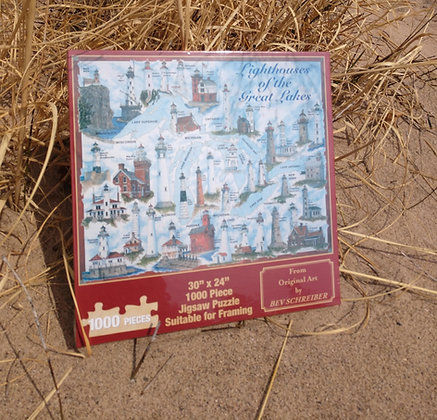 Lighthouses of the Great Lakes Puzzle