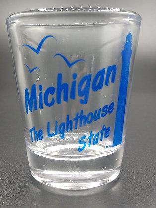 Lighthouse State Shot Glass