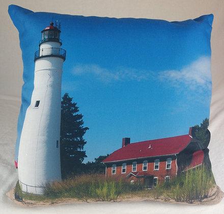 Fort Gratiot Light Station Pillow