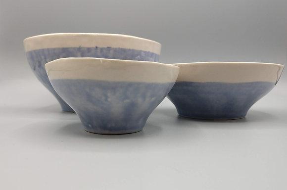 Cloud Blue Bowl Set