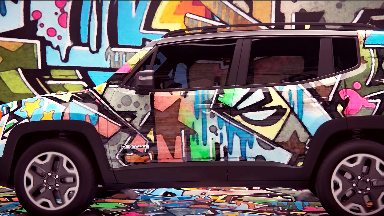 Grafitti Jeep