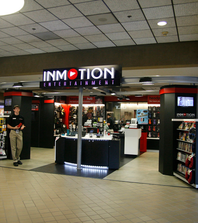 In Motion Entertainment at Pittsburgh International Airport