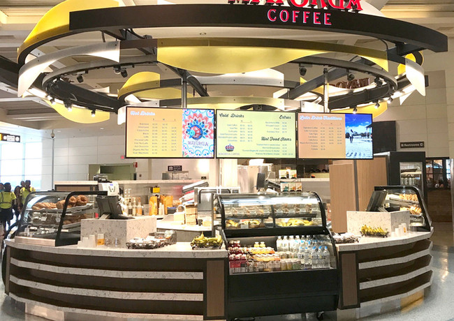 Mayorga Coffee  at BWI Airport