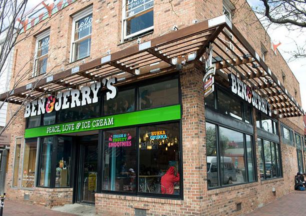 Ben and Jerry's at Burlington, VT