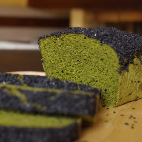Bread cake vert à la courgette