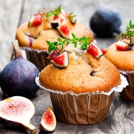 Muffin vegan aux figues