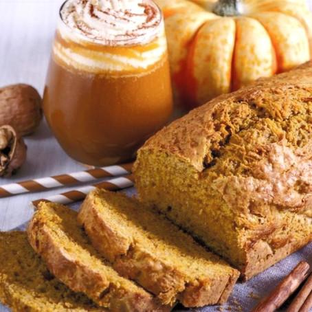 Gâteau moelleux au potiron, noix de coco et orange