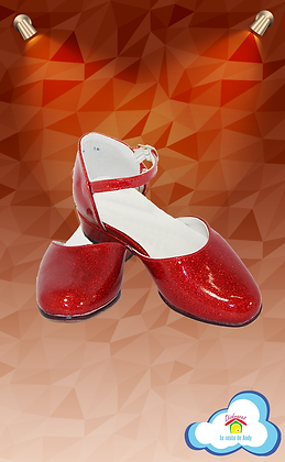 Zapatilla roja