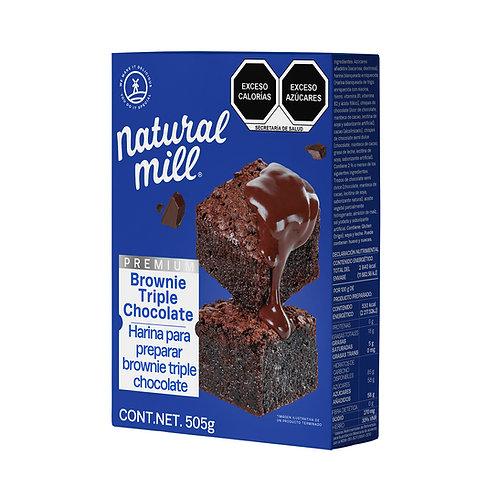Harina para Brownies - Triple Chocolate