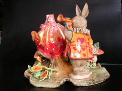 The Bunny of wonderland