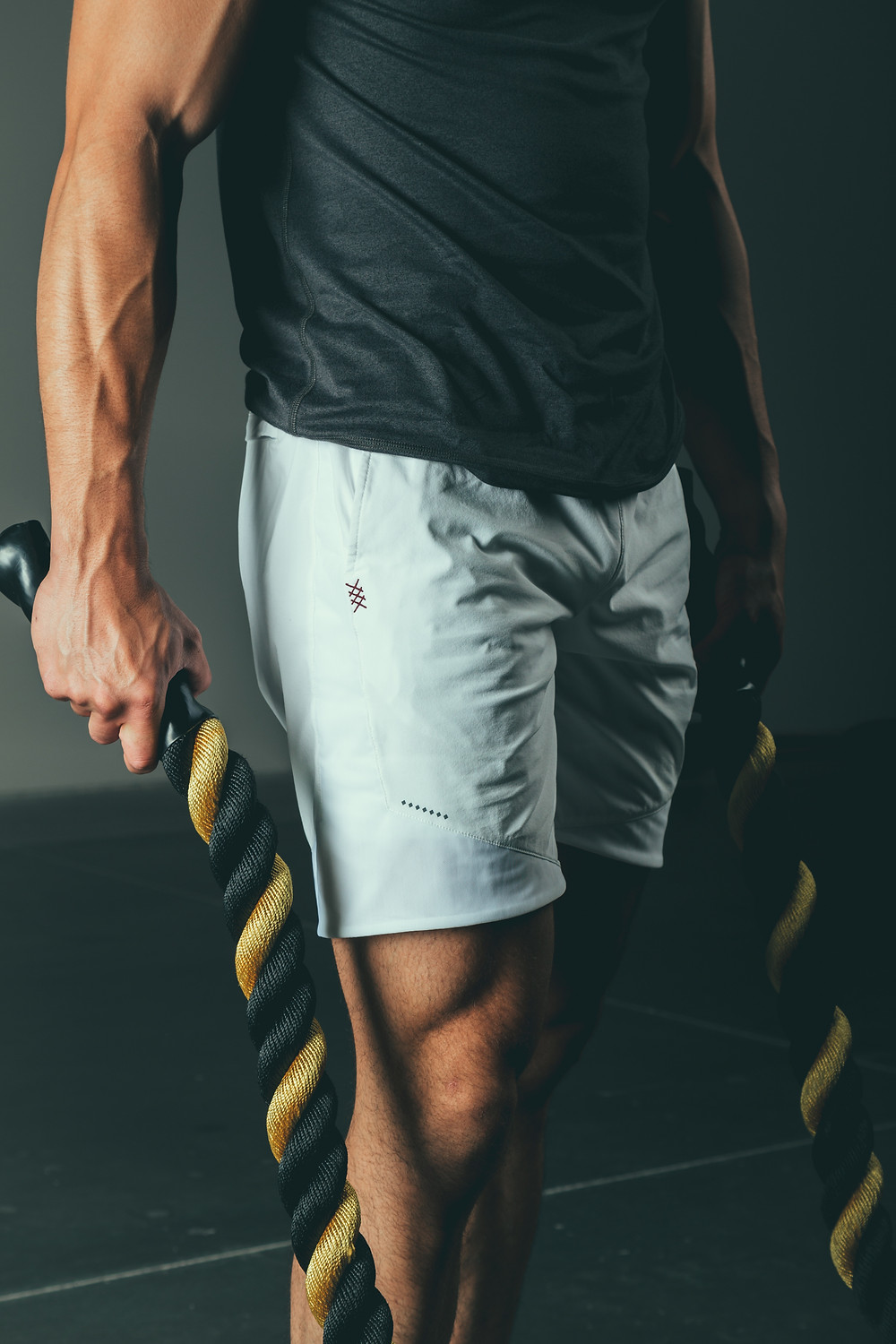 battle rope training and Gainers muscle growth