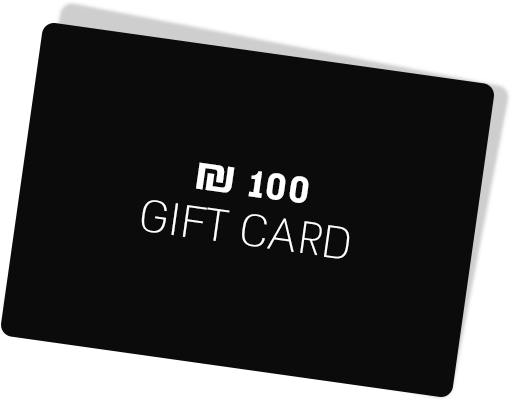 100₪ Gift Card