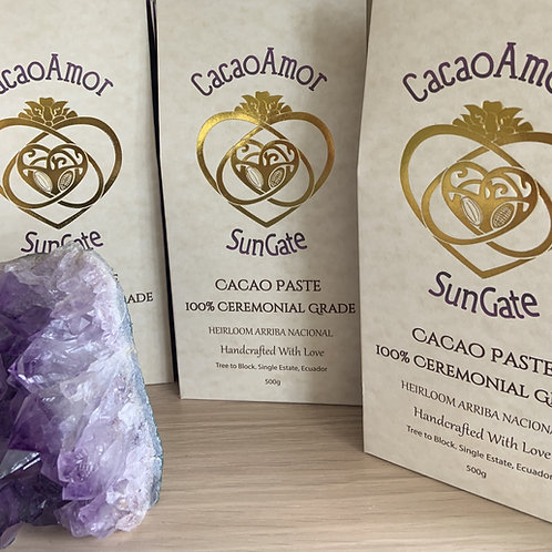 Ceremonial Cacao Paste