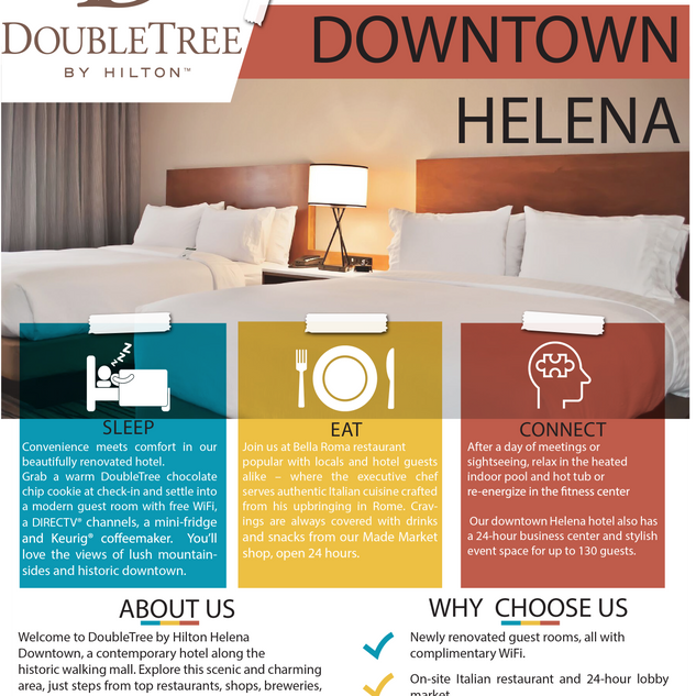 DoubleTree by Hilton Downtown Helena