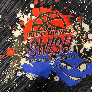2017 Helena Chamber SWISH merchandise logo