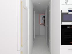 коридор из кухни