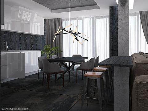 дизайн-проект в жк бизнес-класса, квартиры в жк бизнес класса, дизайн-проект трешки, интерьер для холостяка в бизнес классе