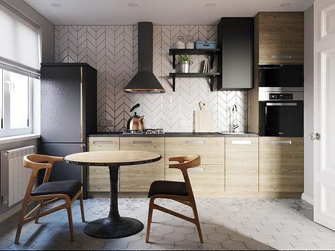 дизайн-проект в стиле лофт, лофт в однушке, лофт в небольшой квартире, дизайн вторички, где найти дизайнера для квартиры