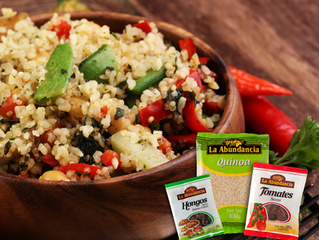Risotto de Quinoa y Tomates Secos
