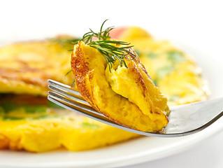 Omelette de Arvejas