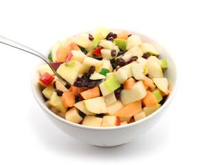 Ensalada de frutas con uvas todo el año