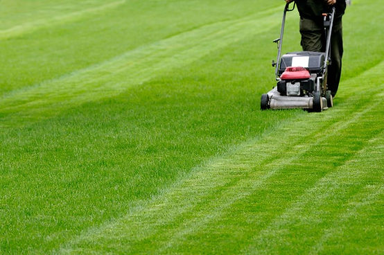 Lawn mowing and programmed grounds maintenance