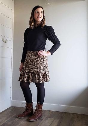Mylee Leopard Skirt