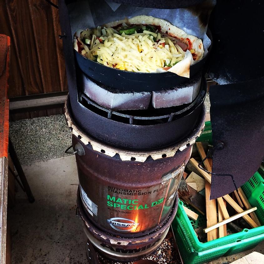 古民家でヨガ&手作りピザパーティー@亀岡