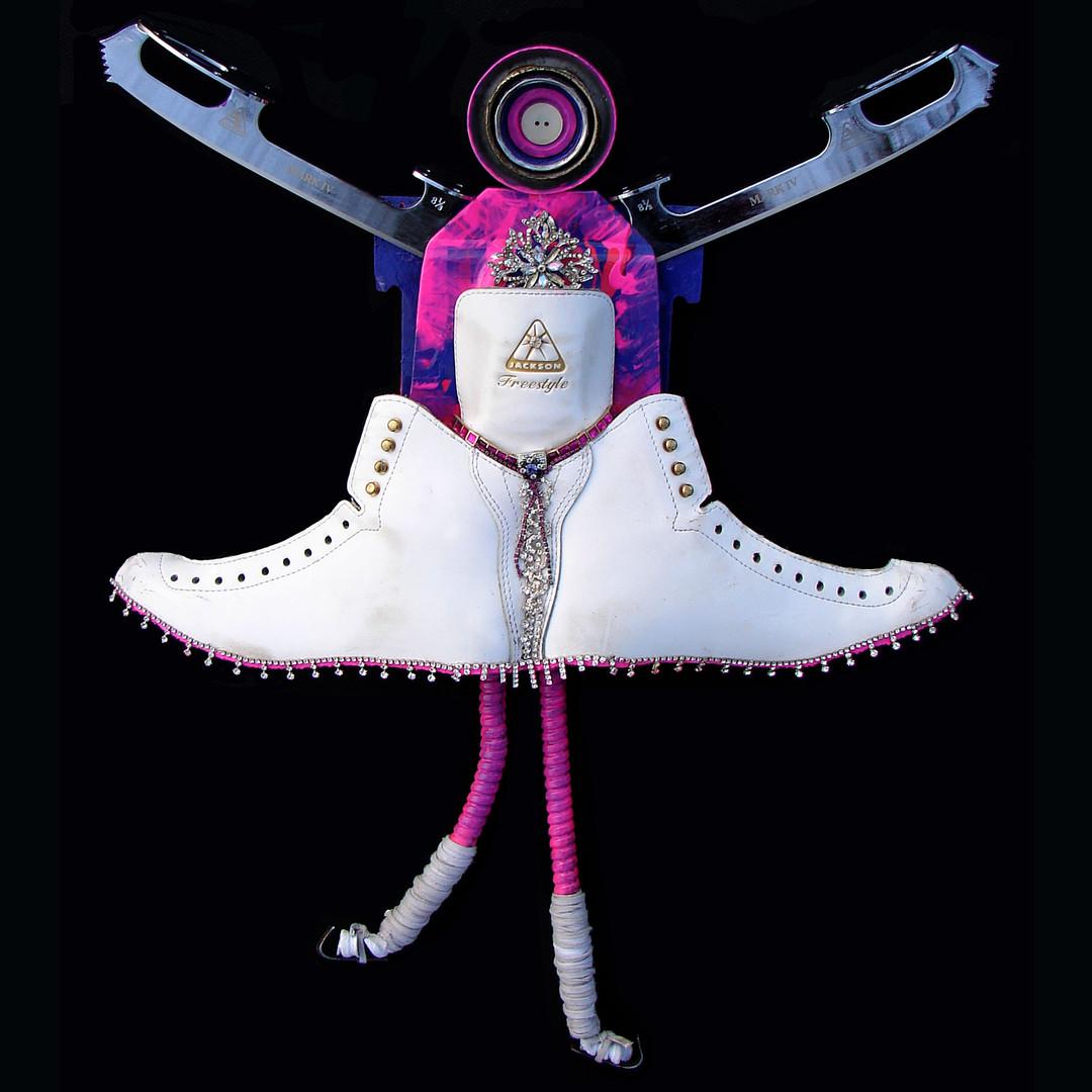Angel Ice Skater