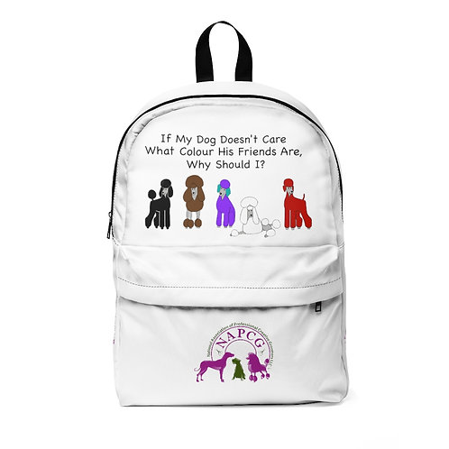 'Colour of My Friends' Nylon Unisex Classic Backpack Waterproof