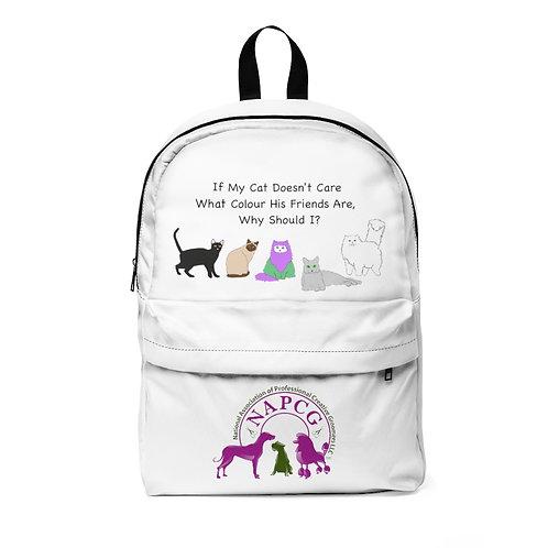 'Colour of My Friends Felines' Unisex Classic Backpack Waterproof