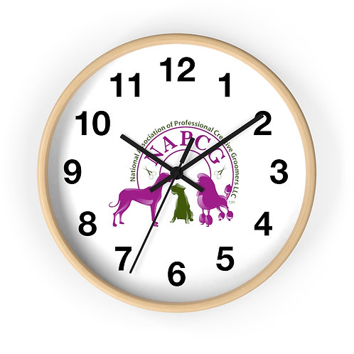 Official NAPCG logo Wall clock