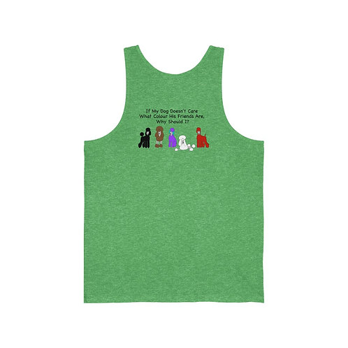 'Colour of My Friends' Unisex Jersey Tank