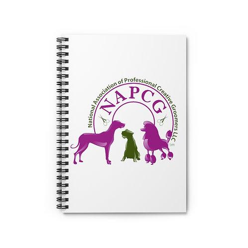 NAPCG Spiral Notebook - Ruled Line