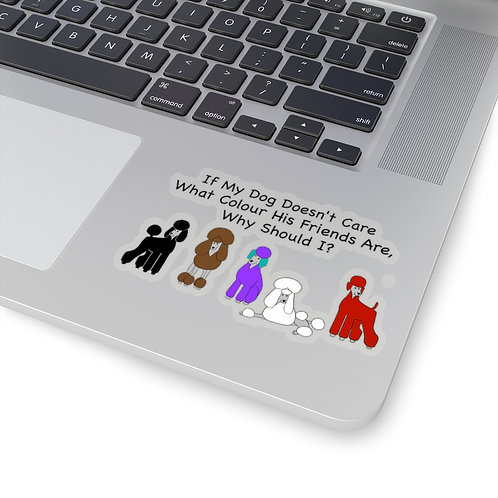 'Colour of My Friends' Kiss-Cut Stickers