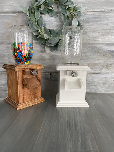 Oak Candy Dispensers