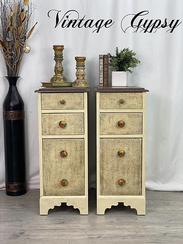 Rustic-Boho Side Stands