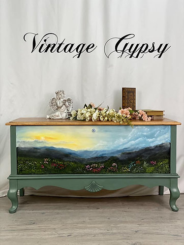 "Lane Cedar Chest -""God's Garden"""