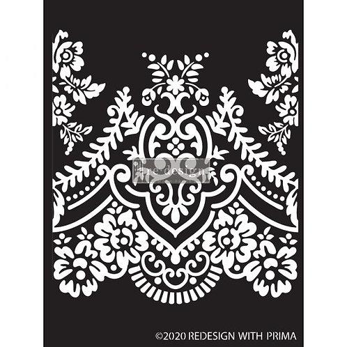 Redesign Decor Stencil: Elegant Lace