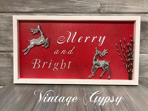 Christmas Decor -Merry and Bright