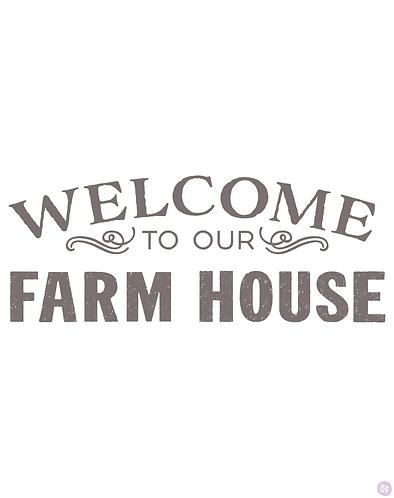Redesign Transfer - Our Farmhouse