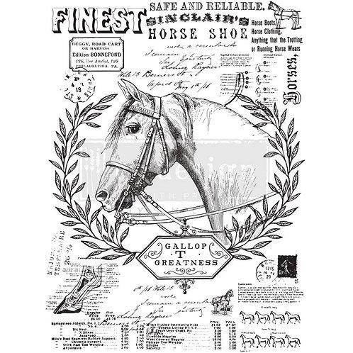 Redesign Transfer -Fine Horseman