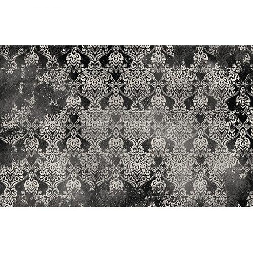 Decoupage Tissue Paper - Dark Damask