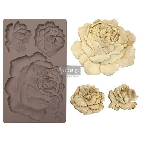Redesign Mould -Etruscan Rose