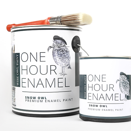 One Hour Enamel Paint -White to Neutral Tones