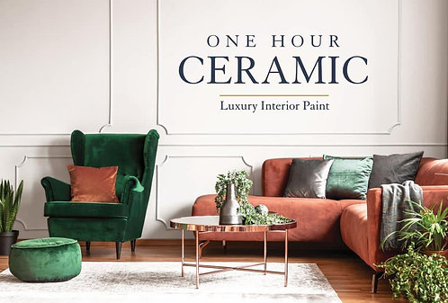 One Hour Ceramic Interior Paint